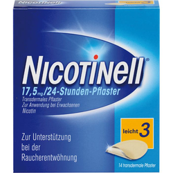 NICOTINELL 7 mg/24-Stunden-Pflaster 17,5mg 14 St.
