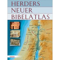 Herders neuer Bibelatlas als Buch von