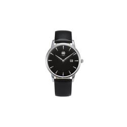 AIBI Armbanduhr n klassischem Design schwarz