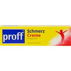 PROFF Schmerzcreme 5% 100 g