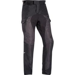 Ixon Balder Motorfiets textiel broek, zwart, S