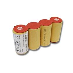 AccuCell NiMH-Akku - 3000mAh (4.8V) für elektrischer Besen Staubsauger-Akku