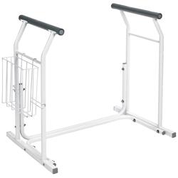 Ridder WC-Aufstehhilfe Comfort, belastbar bis 100 kg, mobile WC-Aufstehhilfe