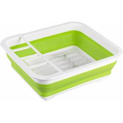 WENKO Geschirrständer grün Abtropfgestelle Küchenhelfer Haushaltswaren