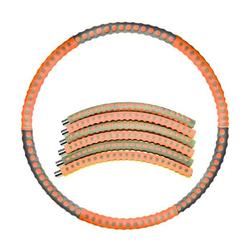 kueatily Hula-Hoop-Reifen Hula-Hoop-Reifen Erwachsene Hoola Hoop Reifen Fitness Gewichtsverlust Gewichtsverlust Reifen Hula Hoop orange