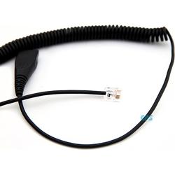 AxTel Spiralkabel 0,5-2 m. QD RJ Cisco AXC-05
