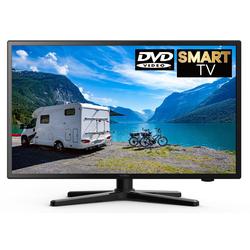 Reflexion LDDW19I, Camping, Wohnmobil LED-Fernseher (47,00 cm/19 Zoll, HD-ready, Smart-TV, integrierter DVD-Player)