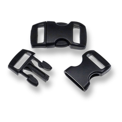 Bracelet-Buckles klein (3/8'') Black