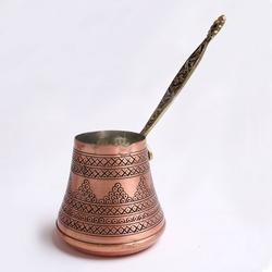 Handgemachte türkische Kaffeekanne