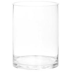 Glasvase, rund, 20 cm