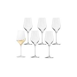 Stölzle Weißweinglas QUATROPHIL Weißweinglas 405 ml 6er Set (6-tlg)