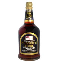 Pusser's Rum Black Label British Navy