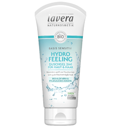 Lavera Basis Sensitiv Hydro Feeling Duschgel 2in1 200 ml