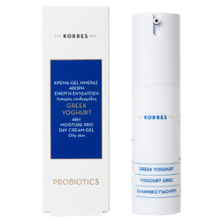 Korres Greek Yoghurt Day Cream-Gel Oily Skin 30ml