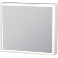 Duravit L-Cube 80 cm weiß glas
