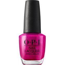 OPI Nail Lacquer 15 ml - NLB31 - Flashbulb Fuchsia