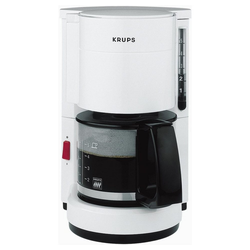Krups Filterkaffeemaschine F183 01 Aromacafe 5 - Kaffeemaschine - weiß