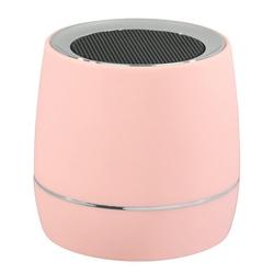 Hama Hama Mobiler Mini Lautsprecher mit Akku Rosa 3,5mm Klinke Reise Box tragbar Lautsprecher (portabel, tragbar, kabelgebunden, mit Akku)
