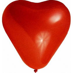 Luftballons 'HERZEN' Ø 350 mm, Größe 'L',   5 Stk.