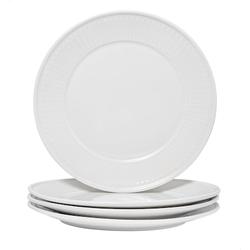 Nordwik Fålhagen Teller 4 Stück 27 cm Weiß