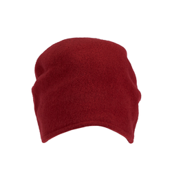 LOEVENICH Damen Beanie rubinrot, Größe One Size, 4445498