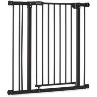HAUCK Tür- und Treppenschutzgitter Close'n Stop charcoal inkl. Verlängerung 9 cm
