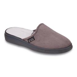 Dr. Orto Bequeme Hausschuhe für Herren Hausschuh Gesundheitsschuhe, Präventivschuhe, Pantoffeln, Hausschuhe grau 45