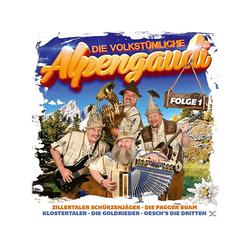 VARIOUS - Die volkstümliche Alpengaudi-Folge 1 (CD)