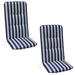 BEST Sitzkissen blau