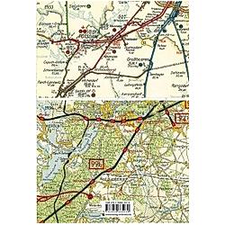 Übersichtskarte der Reichsbahndirektion Berlin 1933 - Buch