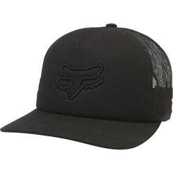 Cap FOX - Boundary Trucker Black (001)
