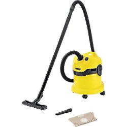 Kärcher Trocken- und Nasssauger WD 2 Schwarz, Gelb 12 L