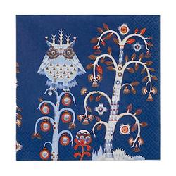 Iittala Taika Papierservietten, 20er-Pack Blau 33x33 cm