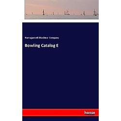 Bowling Catalog E