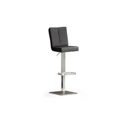 MCA furniture Barhocker Bar.be.cool aus Kunstleder in schwarz