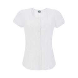 HAMMERSCHMID Damen Trachtenbluse weiß, Größe 38, 4572994