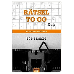 Rätselheft - Rätsel to go - Edition Quiz