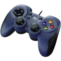 Logitech Gaming F310 Controller Gamepad PC Blau