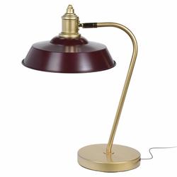 Lampka na biurko Jastira bordowa