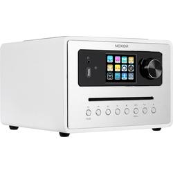 Noxon iRadio 500 CD (FM, DAB+, Internetradio, Bluetooth, WLAN), Radio, Weiss