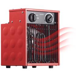 Profi-Industrie-Elektro-Heizlüfter mit 2.000 Watt und 2 Heizstufen