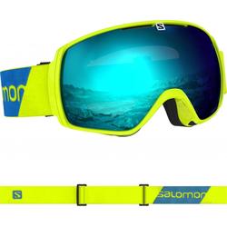 SALOMON XT ONE Schneebrille 2020 neon yellow/solar blue