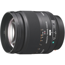 Sony Objektiv 135F28 A-Objektiv für Digitalkameras schwarz