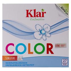 KLAR COLOR Waschmittelpulver ohne Duft (1,375 kg)