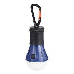 LED ZELTLAMPE M. KARABINER - Laterne - blau