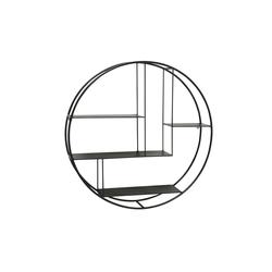 Boltze Regal Carlton in schwarz, 75 cm