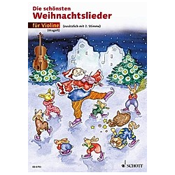 Die schönsten Weihnachtslieder  1-2 Violinen - Buch