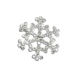 Goebel Brosche Schneekristall Silber - Fitz & Floyd