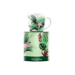 Ritzenhoff Becher My Darling Kaffeebecher Flamingo 2017 (1-tlg)