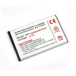 Akku für Sagem MY-700x, Lithium-Polymer